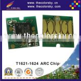 (ARC-E-T1621R) ARC auto reset inkjet ink cartridge chip for Epson T1621 T1622 T1623 T1624 Workforce WF-2010W WF-2010