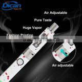 2016 DICAN ego vapor e cigarette Cango mini vape mod air adjustable tank atomizer pure taste