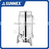 Sunnex New Design Stainless Steel Cover Large Capacity 11.4 ltr / 12 U.S. Qt Milk Dispenser