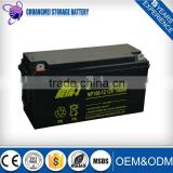 best selling product!12v 150ah Sealed Lead Acid car battery and truck battery                                                                         Quality Choice