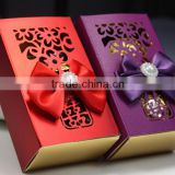 New product Lovely Custom Durable paper candy box
