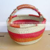 Vietnam seagrass shopping basket