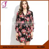 2804 NEW Arrival Cotton Floral Robe Bridesmaid