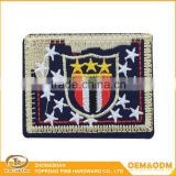 Wholesale cheap fashion design custom embroidery jacket patch dresses patch clothing patches