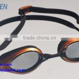 Excellent fit quick adjust advanced swimming goggles wide vision polycarbonate lens swim goggle