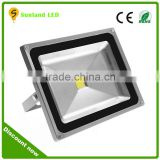 AC85-265V PF>0.9 CRI>80 IP65 cob led reflector waterproof outdoor led reflector 50w