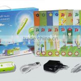 Hot selling Smart English Arabic,French Talking pen with books                                                                         Quality Choice