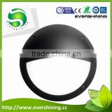 20w Low Energy Outdoor Wall Light with Dusk to Dawn Sensor Eyelid White Black Led Bulkhead Light