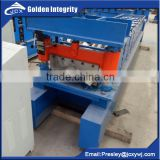 Competitive Price Automatic Galvanized Steel Metal Roof Tile Ridge Cap Roll Forming Machine iron sheet