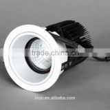 COB led spot light 6w 9w 13w downlighting with aluminum lamp body