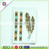 new arrived customized ecofriendly craft quality decorative unique fancy elegant custom hair sticker