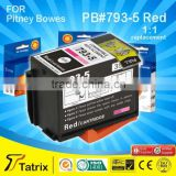 793-5 Red compatible ink cartridge,for Pitney Bowes DM100i DM200l DM125i DM150i FRANKING MACHINES