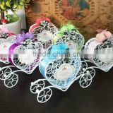 High-end candy box Beautiful decorative clear wedding favours candy gift boxes