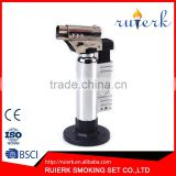 Hiking Camping Gas Torch Fire Starter Maker Flame One Gas Butane Burner Auto Ignition Weld Flame Gun Lighter EK-015