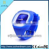 3 ATM Waterproof Fashion Silicone Jelly Candy Wrist Watch