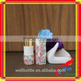 Colored lip balm paper tube for mini lip balm tube with eco-friendly cosmetic tube packaging