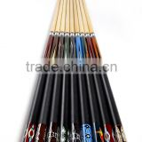 Manufacturer cheap price 1/2 -pc billiard pool cue snooker cue for sale 57inch