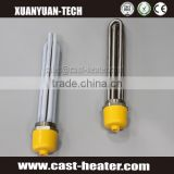 Tube heater elements