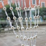 Top Quality Pear Acrylic Crystal beaded curtain panels 2016 elegant hanging plastic bead curtain