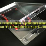 1994002 clamshell packaging tray box for 9mm 7mm ssd hdd solid state disk drive hard disk drive