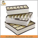 Top selling beige color underwear storage box