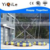 JUMPING!!! Air trampoline bungee cord trampoline bungee trampoline for sale usa