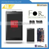 Cell Phone Repair Parts Lcd Digitizer Full Front Assembly For Blackberry Z10 3G & 4G Version
