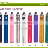 JOMO wholesale bulk e cigarette purchase best selling evod Kit agjustable evod twist with blister pack/gift pack/zipper pack