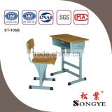 AP Good quality Hight adjustable childs wooden desk and chair set