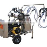 new style gasoline engine and electrical mobile camel milking machine
