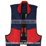150N adult good quality solas EC ISO12402 approved 150N inflatable life jacket life vest