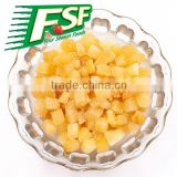 New crop iqf dice yellow peach in stock