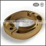 Customiaed investment casting bronze casting parts cast brass