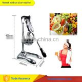 NEWEEK mini all stainless steel home hand use pomegranate orange watermelon lemon juice squeezer extractor