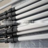 Fiberglass reinforced polymer window cleaning carbon fiber extension pole