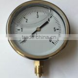 accurate air vacuum pressure gauge with oil filled