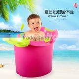 Plastic baby bath tub for 0-12 years old children