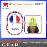 EVA cap with flag imprint Funny shape fashionable eva hat