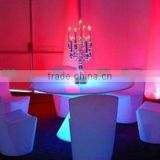 Elegant restaurant furniture led illuminated sofa
