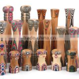 2016 new design bamboo/wood salt&pepper mill grinder