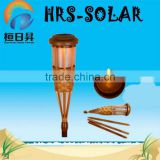 2014 hot selling solar garden outdoor light ,solar bamboo light ,solar tiki torch light