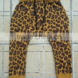 wholesale OEM customized baggy boys leopard pattern harem pants kids harem pants