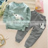 CC0233 New Baby Boys Girls clothing Set Fashion Sport Cotton Clothes Children Spring And Autumn 2-pc Boys Girl Clothing Set