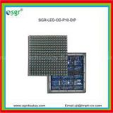 10mm pixel pitch DIP outdoor led advertising screen