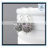 high quality 925 sterling silver long earrings fashion freshwater pearl jewelry for Women