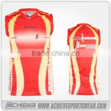 Supply with good quality basketball jersey color orange