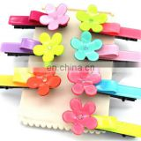 Baby Flower Hair Clips For Baby Hair Accessory Toddler Plastic Hair Clip