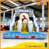 AOQI competitive price Arctic Ocean inflatable Polar Bear Pattern water slide for kids and adults
