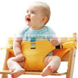 Wholesale adjustable 6 colors simple baby chair belt baby safety edge guard support feeding baby seat belt
