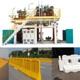Hdpe Road Fence Extrusion Blowing Moulded Moulding Machine Pe Plastic Traffic safety Barrier Blow Molding Machine